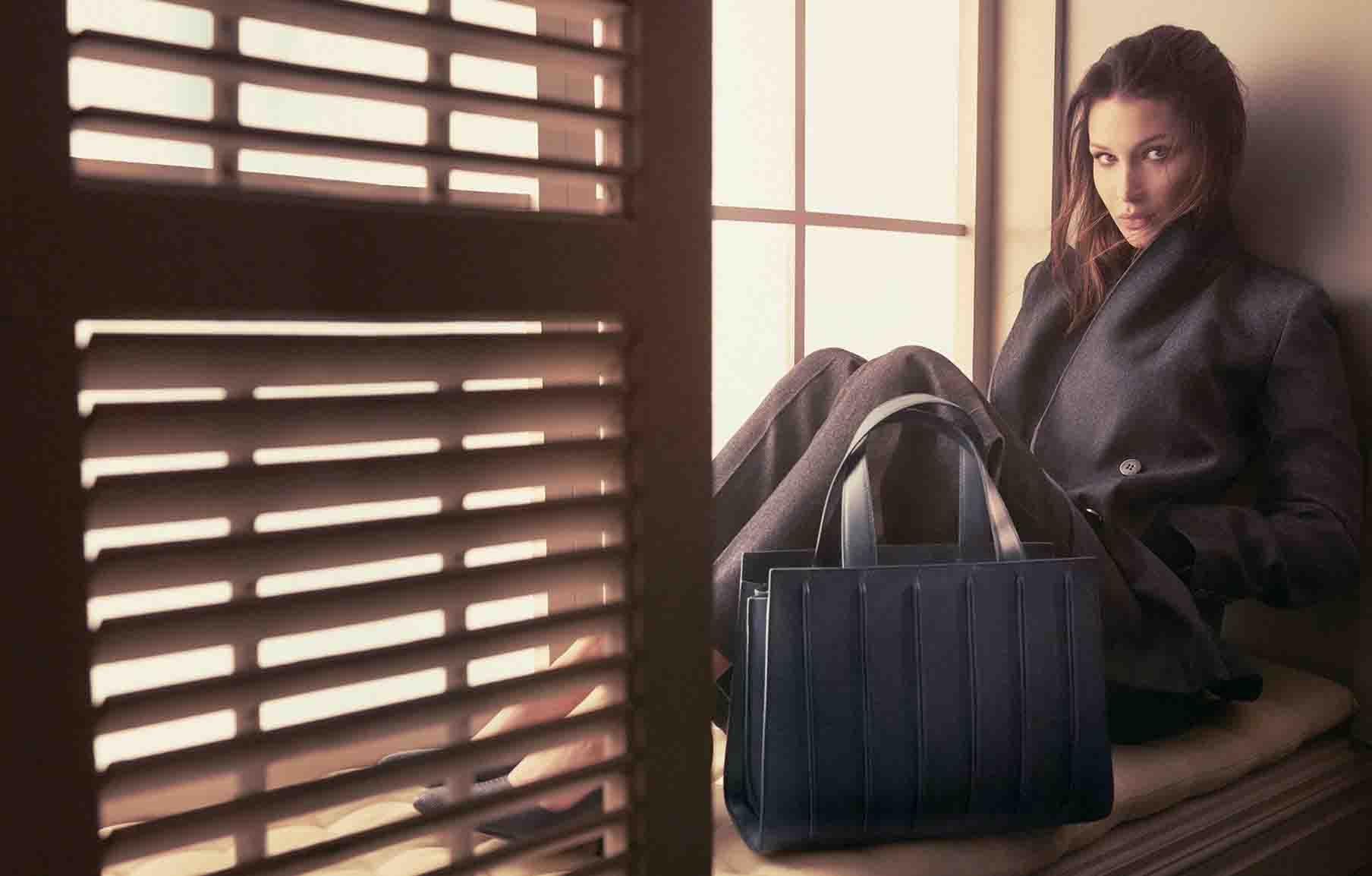 Bella Hadid Max Mara Accessories Spring 2018 Ad Campaign